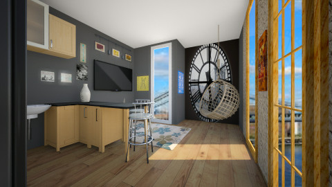 clock tower penthouse - by tiarask