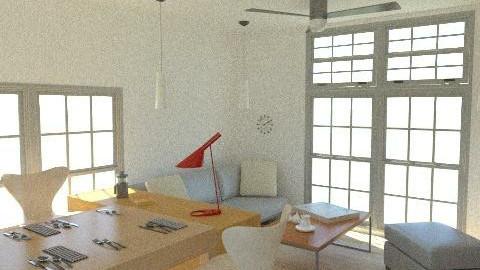KAICHIKU LIVING4 - Country - Living room - by iwakawa1124