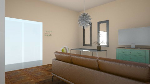 For a little space - Living room - by LaurenPixy