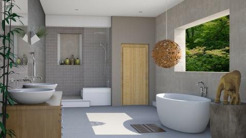 Luxury Bathroom - Modern - Bathroom - by Musicman
