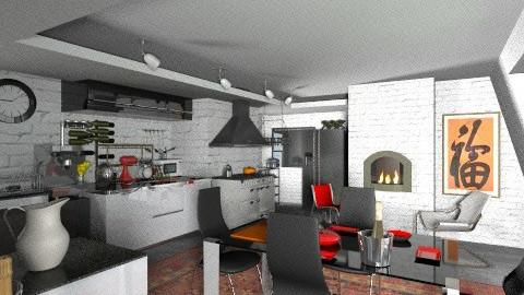 Happy New Kitchen4 - Modern - Kitchen - by katmills98