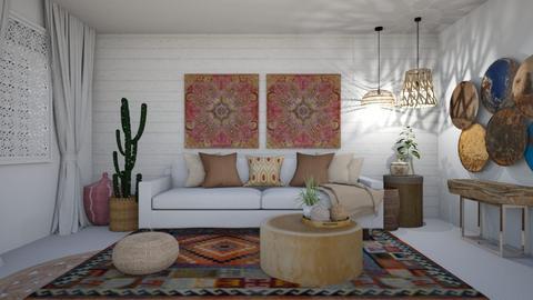 Bohemian Living room - Living room - by klmmorales
