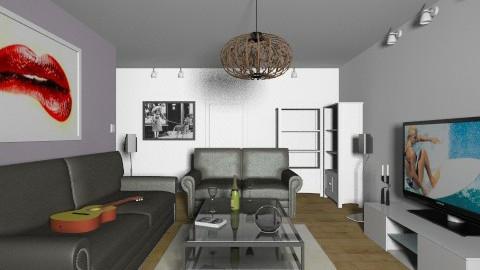 Livingroom 7 - Modern - Living room - by oxigen