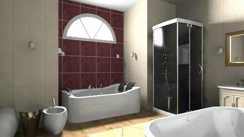 bathroom - Glamour - Bathroom - by Aggelikh Pan