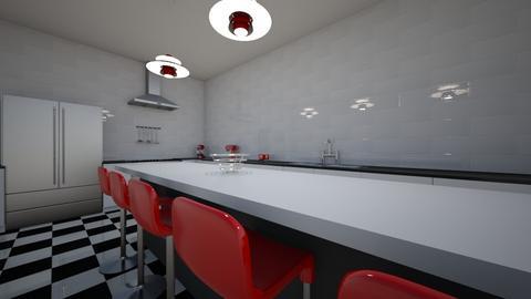 Checker - Kitchen - by bobbyflayy