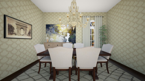 classy - Classic - Dining room - by blingirl