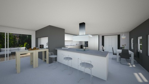 My own kitchen  - Modern - Kitchen - by mariateresadrago