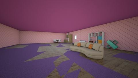 bed room - by rainbow_unicorn222