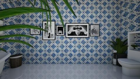 VintageArtBathroom planrt - Vintage - Bathroom - by yaizalloriginal