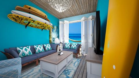 Beach Shack - Living room - by SammyJPili