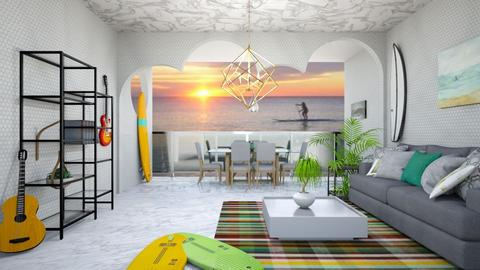surf related - Modern - Living room - by zayneb_17