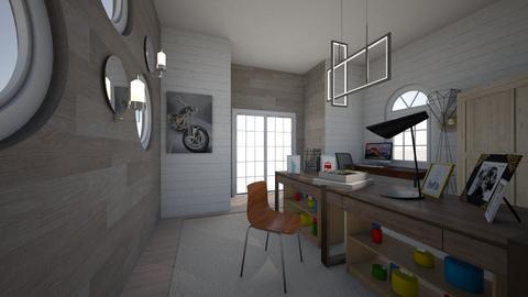 The work office - Vintage - Office - by XxlovedecorationxX