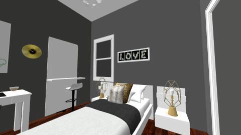dream room - Modern - Bedroom - by AshleyRowland01