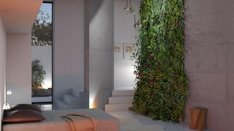 green wall - by bnu