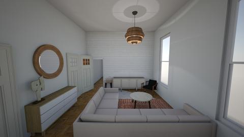 newyork - Living room - by coffeeandcake