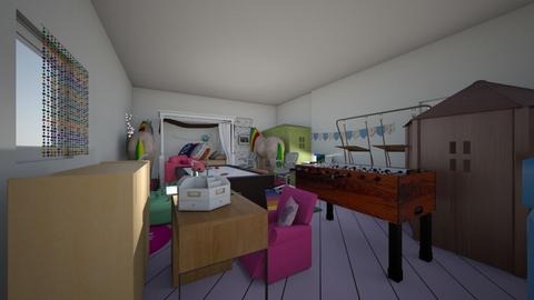 dori and risa room - Kids room - by doridori