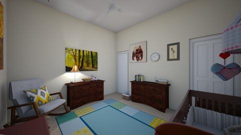 Nursery Design 1 - Kids room - by JoeySchultz