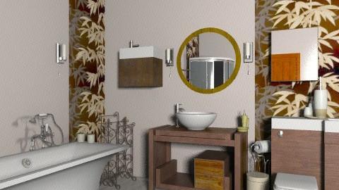 bathroom - Rustic - Bathroom - by enikovas