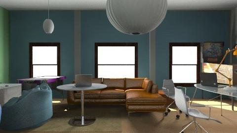 2J apartman - Modern - Living room - by Klaudia Zajdel