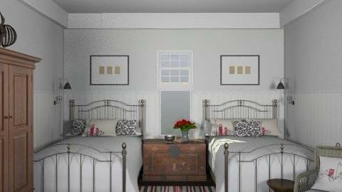 Newport Beach Guest Bedroom3 - Eclectic - Bedroom - by LizyD