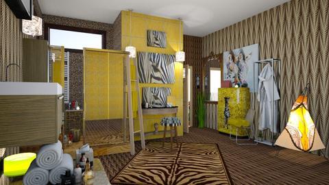 zebra bath 1 - Bathroom - by natasa mihajlovic