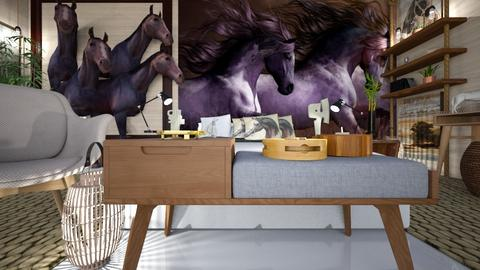horse - Bedroom - by ana111