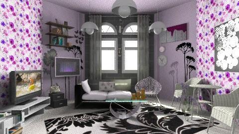 pinky livingroom - Modern - Living room - by moonissa