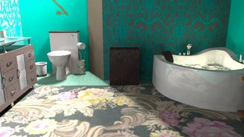 peaceful oasis - Vintage - Bathroom - by cici45
