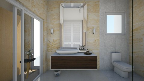 Bathroom Angle 1 - Minimal - Bathroom - by gerlukavich
