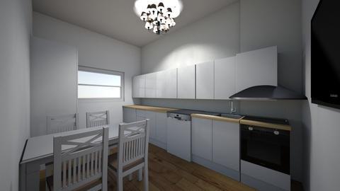 kuchnia  - Kitchen - by siwamuszka