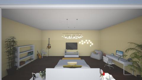 first design - Modern - Bedroom - by aysegulky