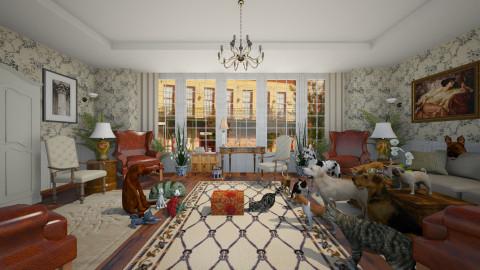 Veteran Tribute - Classic - Living room - by russ