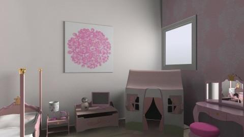 girl room  - Bedroom - by Eline0609