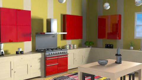 Spicy Surprise - Eclectic - Kitchen - by channing4