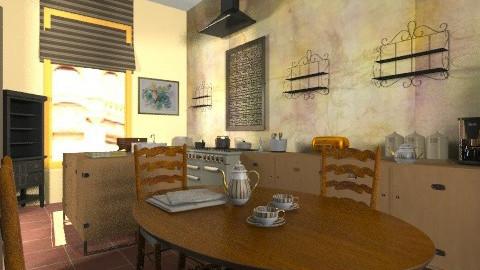 Classy kitchen - Glamour - Kitchen - by mrschicken