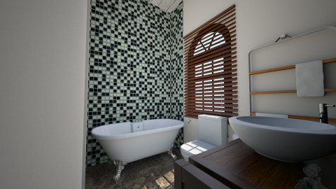 neutral bath angle - Country - Bathroom - by renne