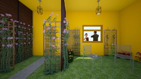 FLORES - Rustic - Garden - by HannaTOTE