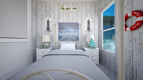 Beach House Bedroom - Bedroom - by SammyJPili