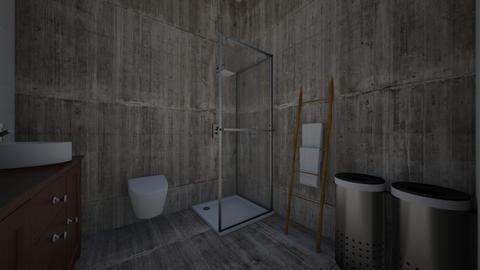 Lagerwerf badkamer - by RosalieGijsberts