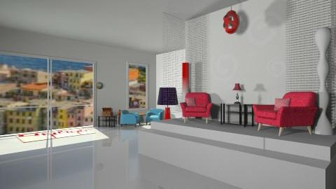 Mod - Retro - Living room - by HGranger2