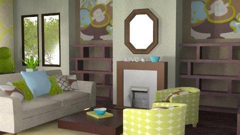 Roomy - V2 - Retro - Living room - by jenshadow_222