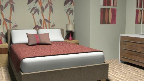 Budget Bedroom - Minimal - Bedroom - by Theadora