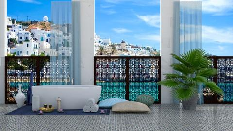 Bathroom in Greece - Bathroom - by bgref