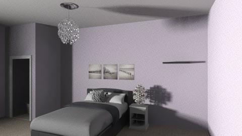 Modern Lavender Room - Modern - Bedroom - by mariah415