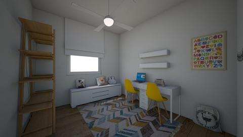 Shira playroom 39 - Kids room - by erlichroni