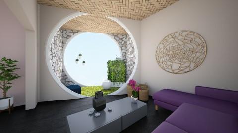 Sakura Living Room - Global - Living room - by archibasil
