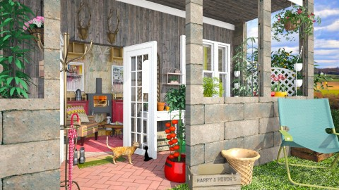 allotment shack - Eclectic - Garden - by donella