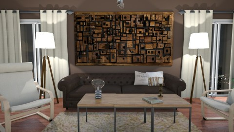 American Minimal - Minimal - Living room - by Angela Quintieri