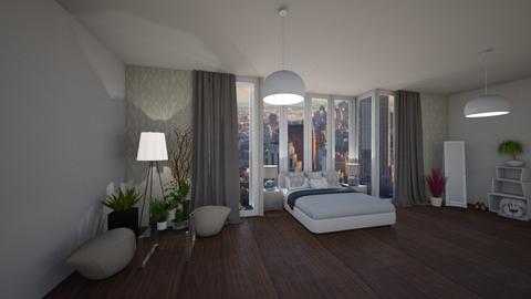 new beginning - Bedroom - by Tinkagolianova