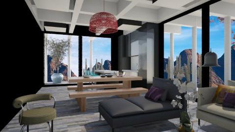 Desert House - Modern - Living room - by 3rdfloor